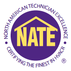 NATE Technician Excellence training and experience