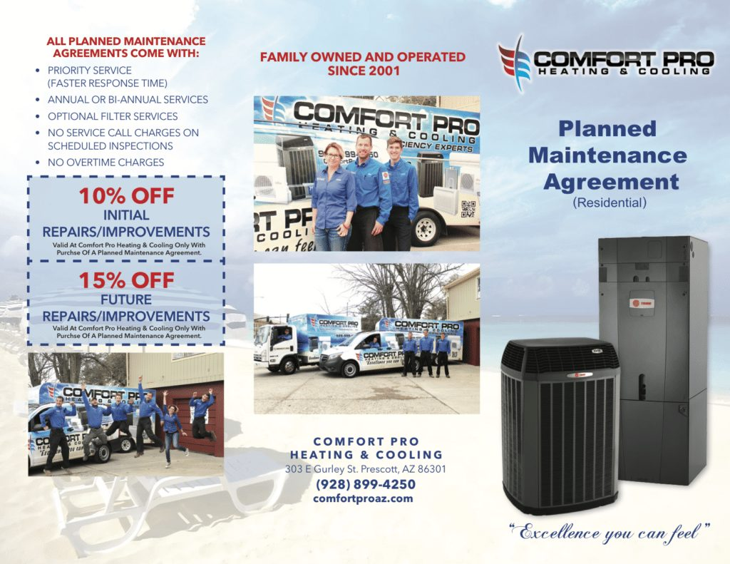 Comfort Pro Planned Maintenance agreement
