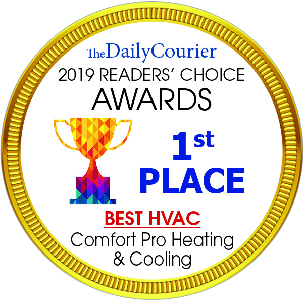 1st place The Daily Courier for Best HVAC